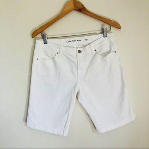 Calvin Klein Jeans Bermuda Cotton stretch short